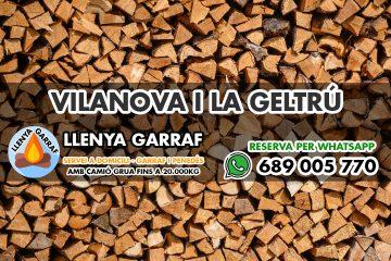 Venta de Leña en Vilanova i la Geltru